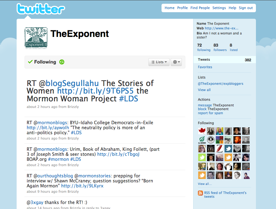 The Exponent on Twitter