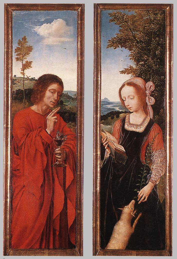 John the Baptist and St. Agnes