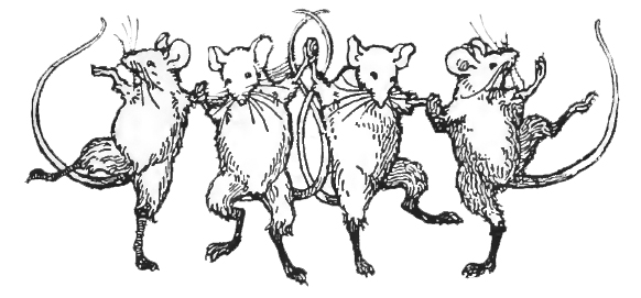 illustration from The Battle of Mice and Frogs