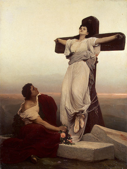 Max Gabriel Cornelius von-XX-Christian Martyr on the Cross (St Julia)-XX-1865