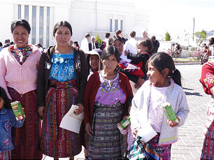 Guatemalan Temple Open House