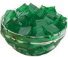 green jello