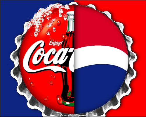"""coke and pepsi """"pepsi is sweeter than coke, so right away it had a big advantage in a sip test  pepsi is also characterised by a citrusy flavor burst, unlike the."""