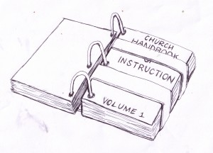 The Sealed Book Church Handbook of Instruction Volume 1