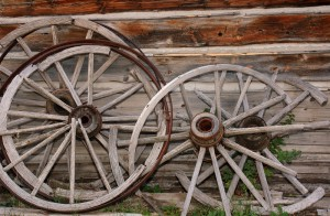 Broken Wagon Wheels