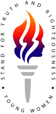 LDS_Young_Women_Organization_Logo_-_Torch_with_Text