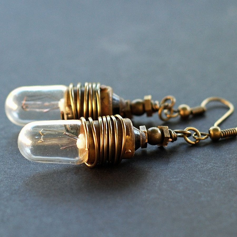 Lightbulb Earrings: One Modest Pair is Sufficient