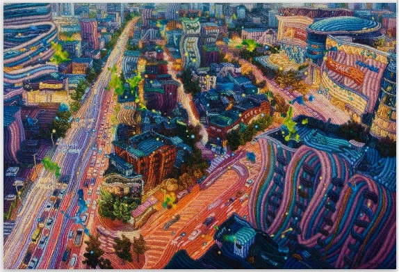 City Scape by Ham, Myung Su
